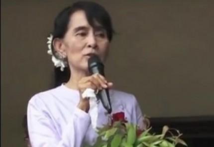 Birmanie- Aung San Suu Kyi